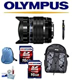 Olympus M。ZUIKO DIGITAL ED 8mm f1.8魚眼レンズProレンズ+バックパック+レンズペンクリーニングシステム+送風機+クリーニングキット..
