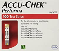 Rocheoper ltd Oper Ltd Accu Chek Performa X 100 (Without Chip) 100 Strips by Accu Check Performa