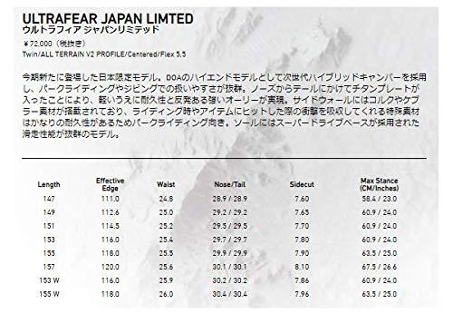 ULTRAFEAR-JAPAN LIMTED [2018-2019モデル]