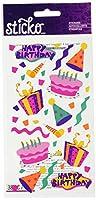Sticko (スティッコ) スティッカー Birthday Fun (38 ピース) SPPR18