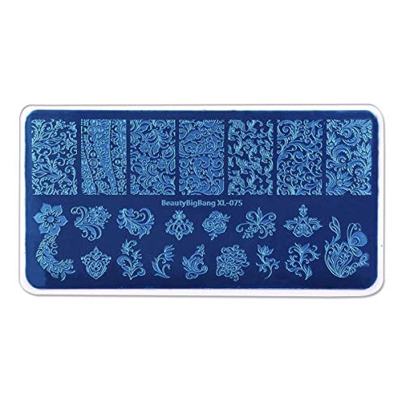 魂それる良心的Radiya ネイルプレートスタンピング花とつる柄ナチュラル系春夏に最適イメージプレートスタンプネイルプレートネイルステンシルケース付き長方形スタンピンクネイルプレートアートマニキュアツール