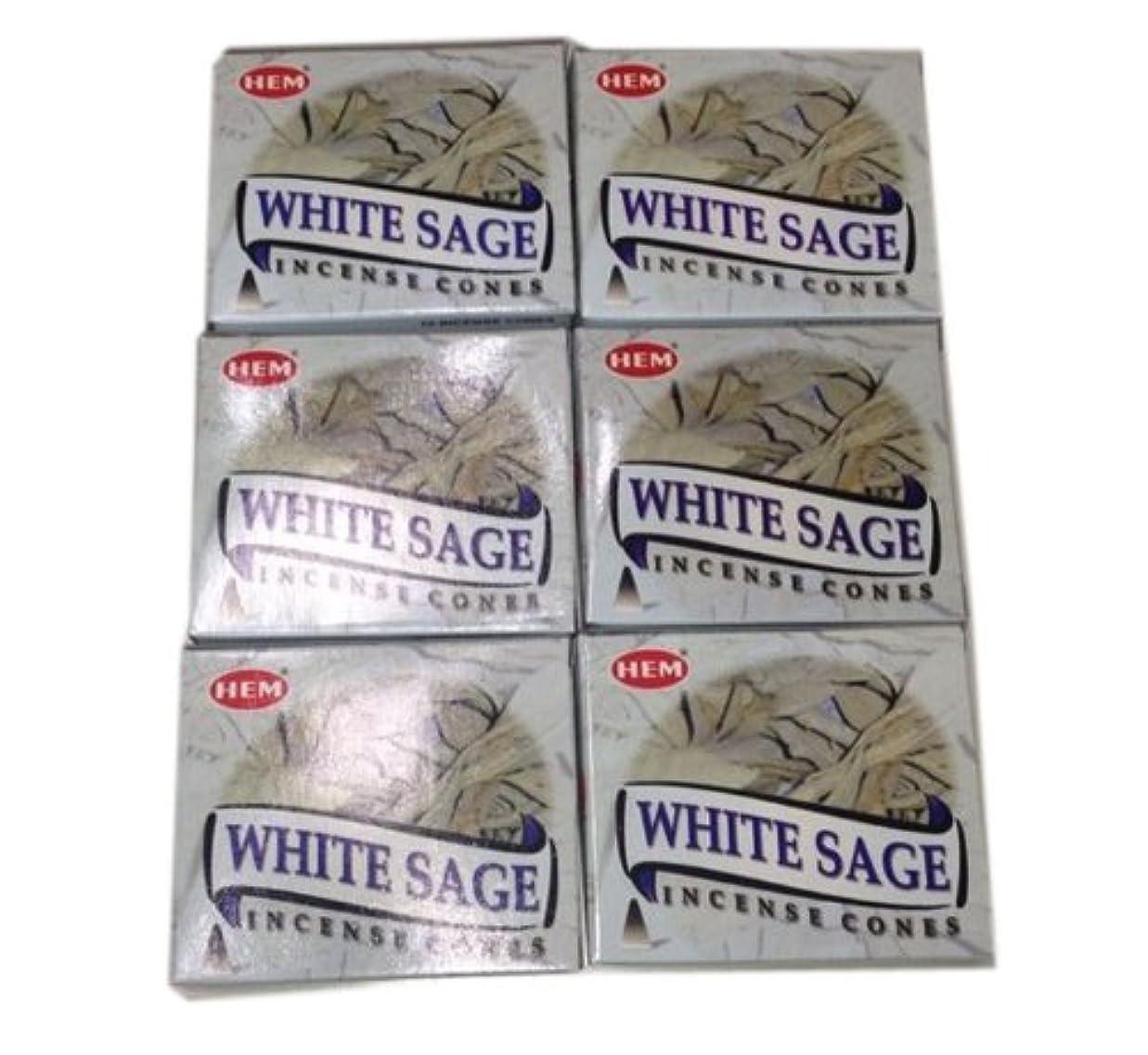 シーンクレアヒゲお香コーンタイプ ホワイトセージ 60個入り