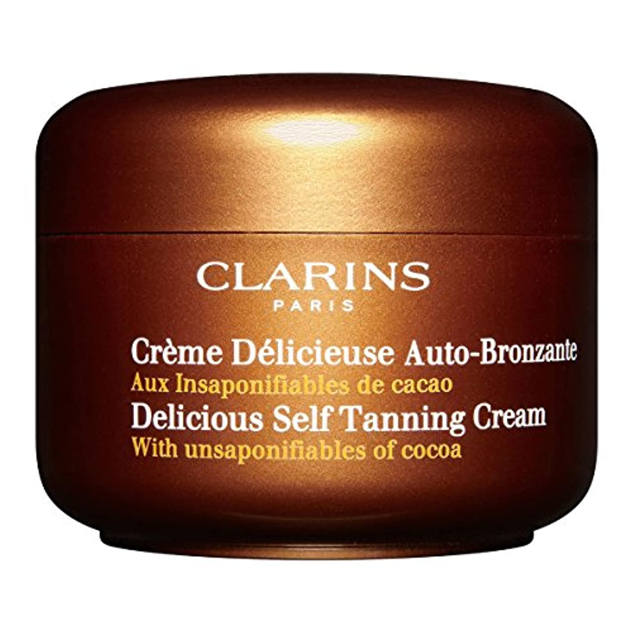 Clarins Delicious Self Tanning Cream 125ml [並行輸入品]