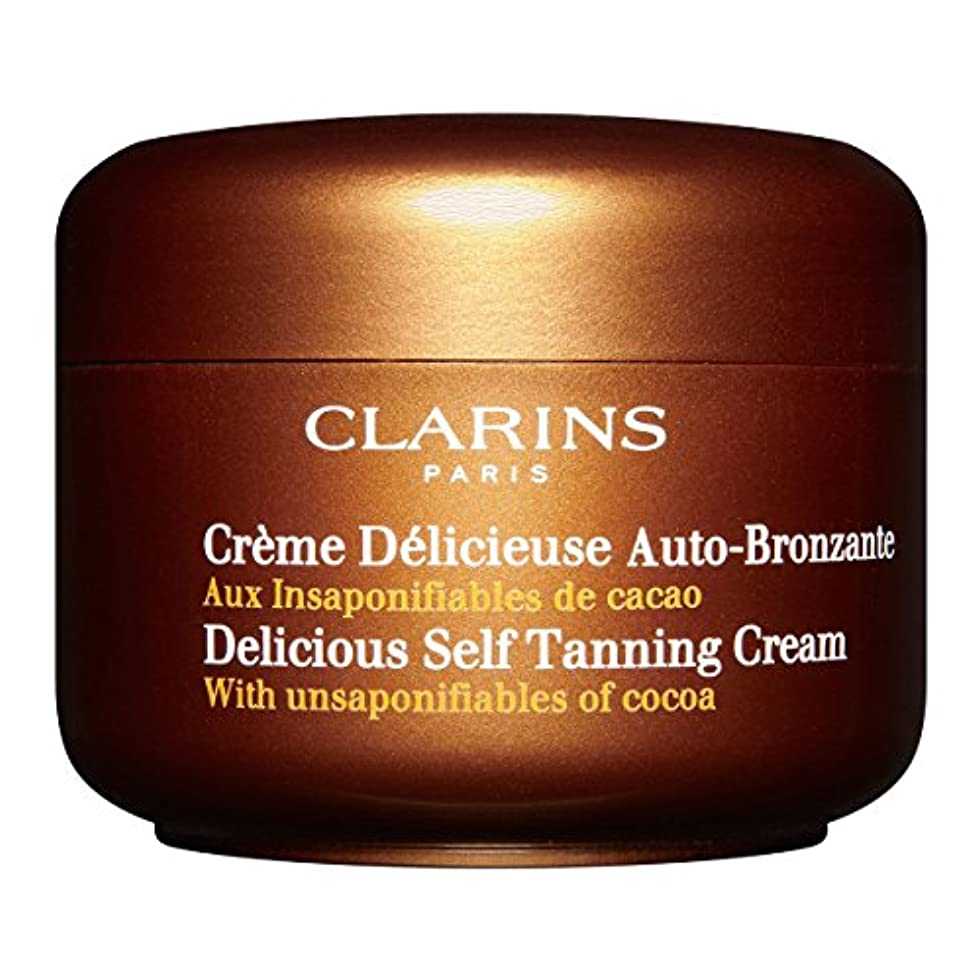 代替貴重な砂利Clarins Delicious Self Tanning Cream 125ml [並行輸入品]