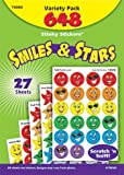 TREND Products - TREND - Stinky Stickers Variety Pack, Smiles & Stars, 648/Pack - Sold As 1 Pack - Large, round, scratch-and-sniff stickers are ideal motivators and rewards. - Sure to please everyone from students to collectors. - Safe to use on photos. by Trend [並行輸入品]