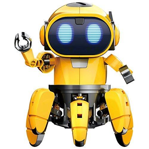 エレキット ロボット工作キット フォロ 赤外線レーダー搭載6足歩行ロボット MR-9107