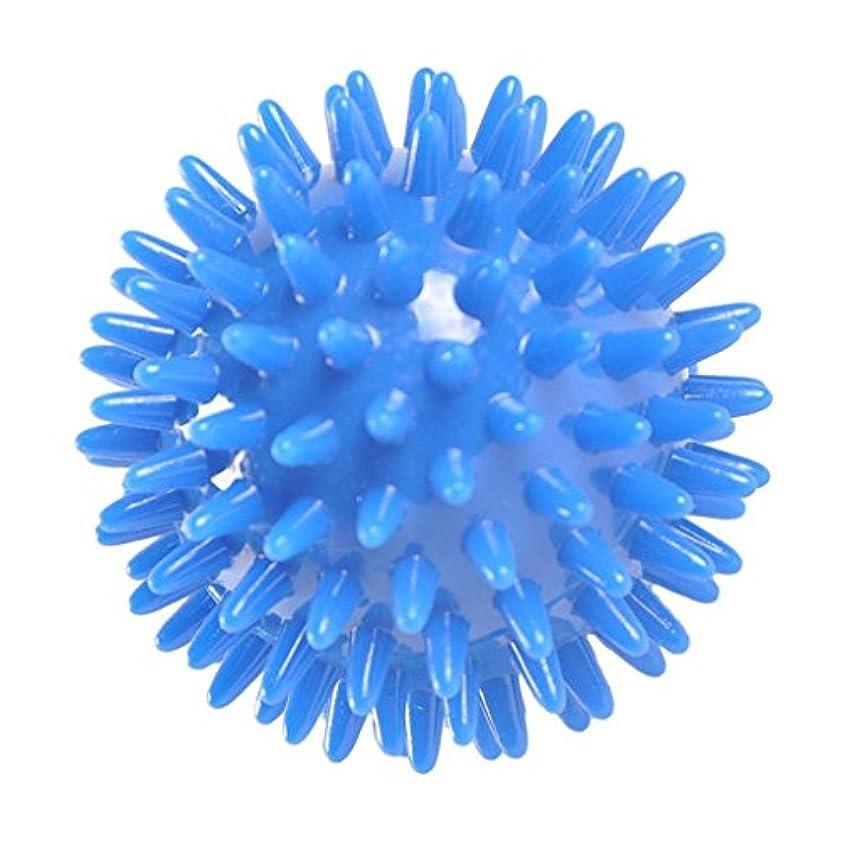 新しい意味却下する野生Fenteer マッサージボール シリコーン マッサージャー ストレス解消 2サイズ選べる - 8cm