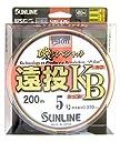 サンライン(SUNLINE) ナイロンライン 磯スペシャル 遠投 カゴ ぶっこみ 200m 5号
