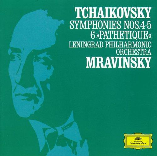 チャイコフスキー:交響曲 第4・5・6番《悲愴》