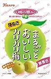 カンロ まるごとおいしいカリカリ梅 36g×6袋