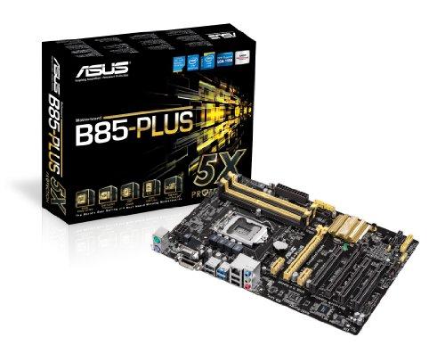 ASUSTeK Intel B85チップセット搭載マザーボード B85-PLUS 【ATX】
