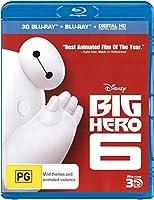 Big Hero 6 - 3D Blu-ray + Blu-ray + Digital Copy