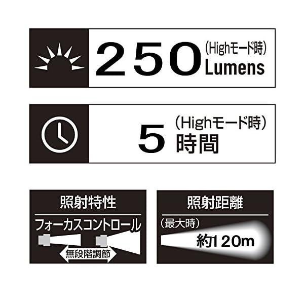 GENTOS(ジェントス) LED懐中電灯 閃...の紹介画像3
