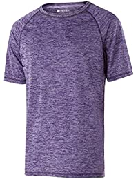 Holloway Youth Electrify 2.0シャツ( Small , Purple Heather )