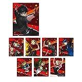 PERSONA5 DANCING STAR NIGHT トレーディングマイクロクロス BOX商品 1BOX=8個入り、全8種類