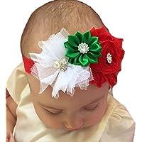 miugleベビーガールズクリスマスヘッドバンド新生児、乳児と幼児のため。