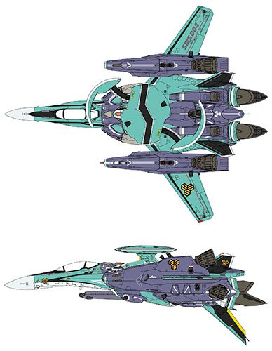 1/72 RVF‐25 スーパー メサイア マクロスF プラモデル