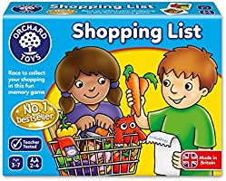 Orchard Toys OC003  - Shopping List Game