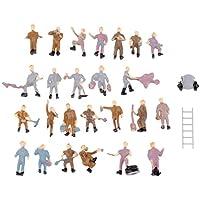 25個セット 情景コレクション ザ 人形 人物 人々 人間 人間フィギュア 塗装人 情景コレクション ザ 鉄道模型 ジオラマ 建築模型 電車模型 教育 DIY