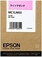 EPSON MC1LM03 インクカートリッジ・ライトマゼンタ