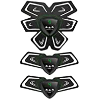 AKARUI 腹筋 ベルト EMS ダイエット 腹筋 腕筋 筋トレ フィットネスマシン USB充電式 男女兼用