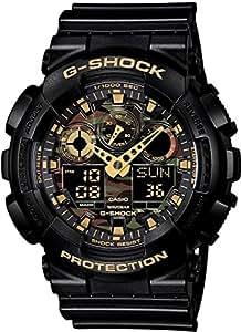 [カシオ]CASIO 腕時計 G-SHOCK 海外モデル Camouflage Dial Series GA-100CF-1A9ER [逆輸入品]