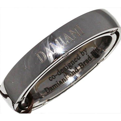 [ダミアーニ]DAMIANI K18WG ダイヤ10P D-SIDEリング 指輪(リング) 10.5号 [中古]