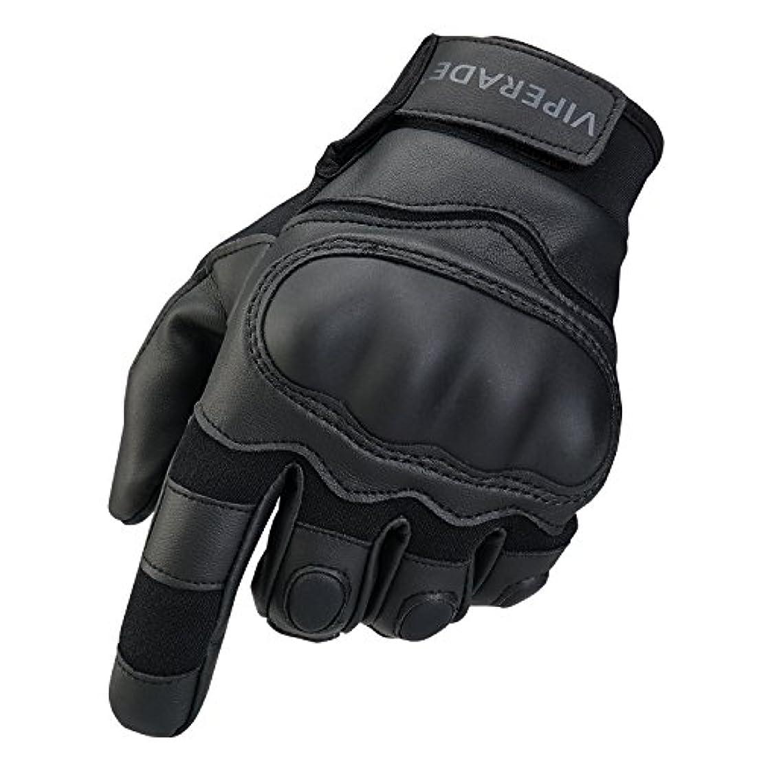 ピッチ有害の間にVIPERADEサイクリング手袋、屋外用防風オートバイ用手袋、戦術用手袋、ミリタリーグローブ、自転車オートバイクライミンググローブ、安全で 手袋、ミリタリーラバーハードナックルアウトドアグローブ