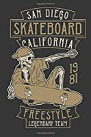 Composition Notebook: Skateboarder Journal | Notebook | Diary | Composition | 6x9 | 120 Pages | Cream Paper | Skate Tricks Journal | Notebook for all Skateboard Lover