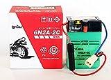 ジャパン GSユアサ バッテリー 6N2A-2C (GY-C) 6Vバイク用 開放式 液入り 充電済み バッテリー 【BSMオリジナル】