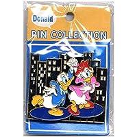 ディズニー ドナルド&デイジー ピンバッジ ラッキーコーポレーション 2001年