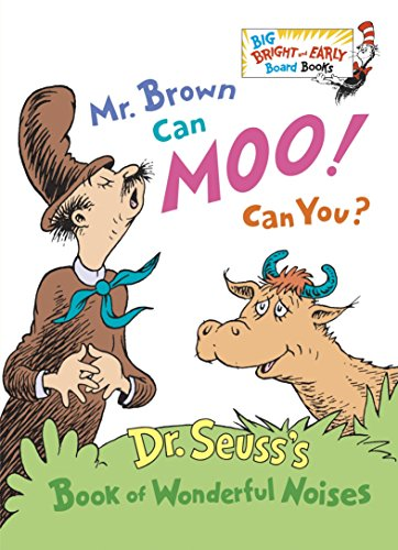 Mr. Brown Can Moo! Can You? (B...