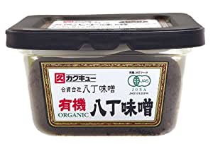 カクキュー 有機八丁味噌カップ 300g