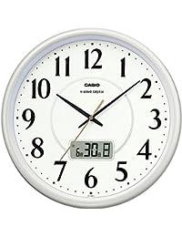 カシオ アナログ電波掛時計 日付表示付 IC-1001J-9JF