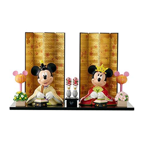 [ベルメゾン] ディズニー 親王飾り ミッキー&ミニー...