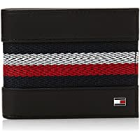 Tommy Hilfiger Corporate Stripe Mens Wallet Black