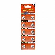 TIANQIU ボタン電池 10個入り 1シート LR750 LR754