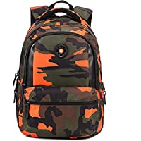 Onirii School backpack For Girls Boys Bookbags Outdoor Dayback Camo
