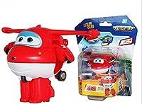 2016 tum 4pcs/Set Mini Super Aircraft Wings Toys Super wings Transformation Boys Toys Model of Plane Robot Action Figure