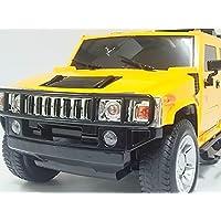 ビックサイズ!GK◇ハマーH2◇ライセンス正規認証車1/12ラジコンカーRC/イエロー
