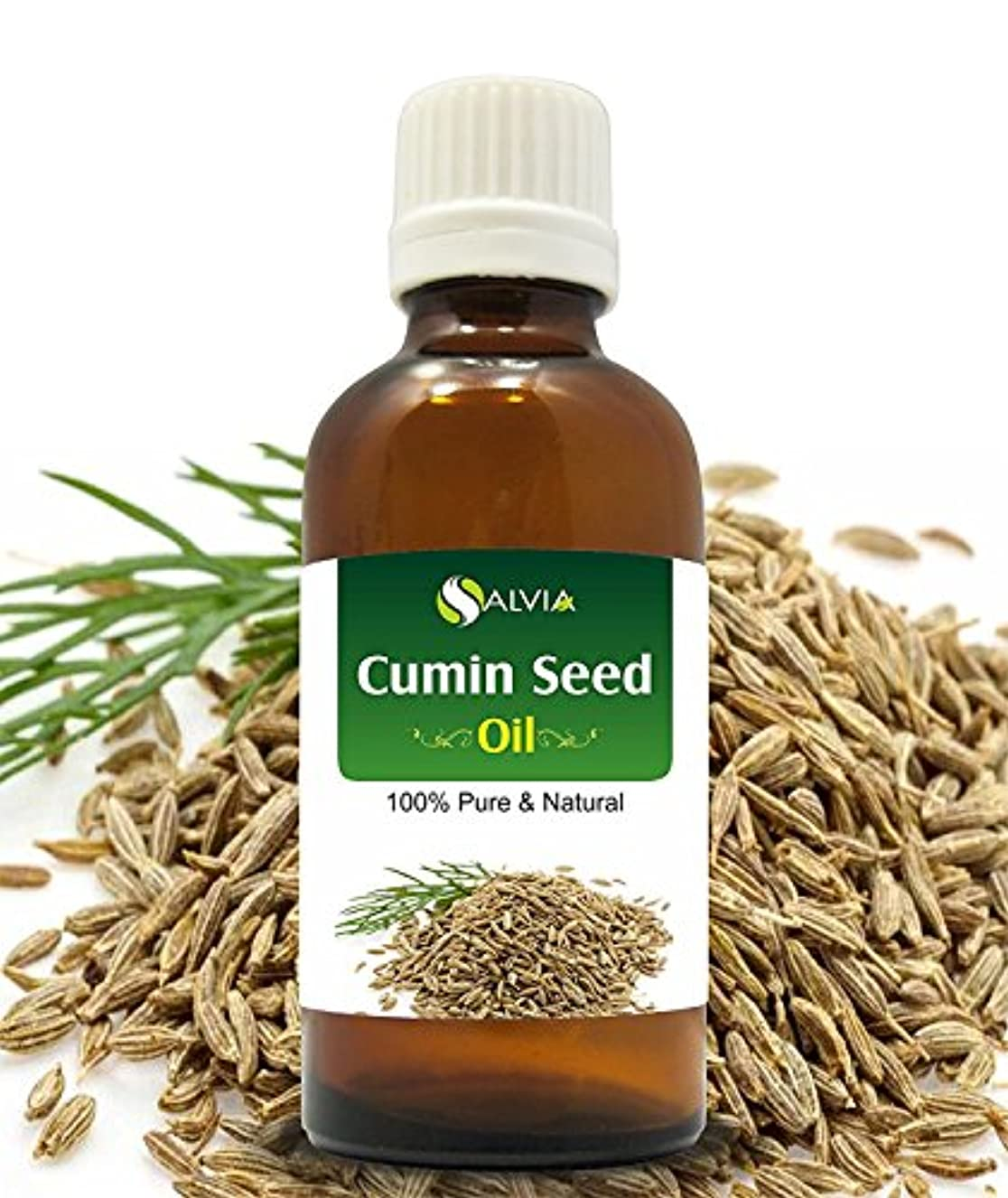 提唱する反抗便宜CUMIN SEED OIL (CUMINUM CYMINUM) 100% NATURAL PURE ESSENTIAL OIL 30ML