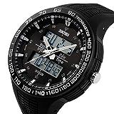 腕時計 メンズ スポーツ アウトドア カジュアル ビッグフェース デジタル ファション ブランド [並行輸入品]