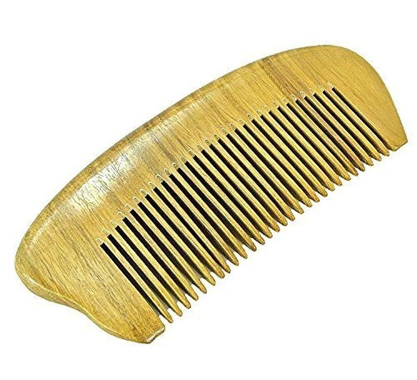 構想する口価格EQLEF? Green sandalwood no static handmade comb,Pocket comb (short) [並行輸入品]