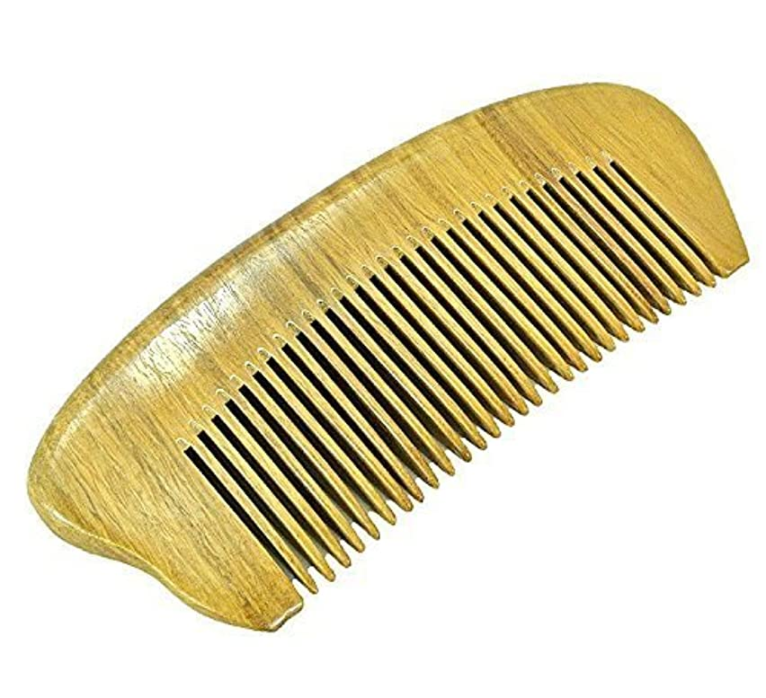 謎めいたおなじみのひどいEQLEF? Green sandalwood no static handmade comb,Pocket comb (short) [並行輸入品]