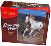 Running Wild 750-Piece Jigsaw Puzzle - Galloping Away