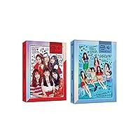 ヨジャチング 女子親舊 - Sunny Summer [Sunny+Summer ver. SET] (Summer Mini Album) 2CD+Booklet+2Photocards+2Folded Posters [KPOP MARKET特典: 追加特典フォトカードセット] [韓国盤]
