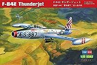 ホビーボス 1/32 エアークラフトシリーズ F-84E サンダージェット プラモデル