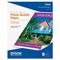Epson Photo Quality Glossy 8 1/2 x 11 Inch Paper (S041124) by Epson [並行輸入品]