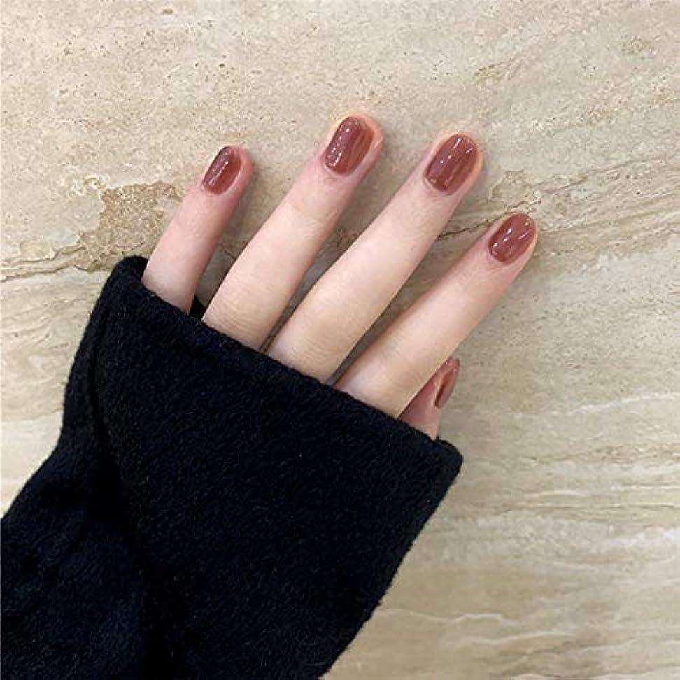 へこみ共役田舎者SIFASHION ins 人気の 24pcs ネイルチップ 可愛い優雅ネイル 長い偽の爪
