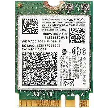 Lenovo Thinkpad W541 Intel Dual Band Wireless AC Bluetooth 4.0 WIFI Card